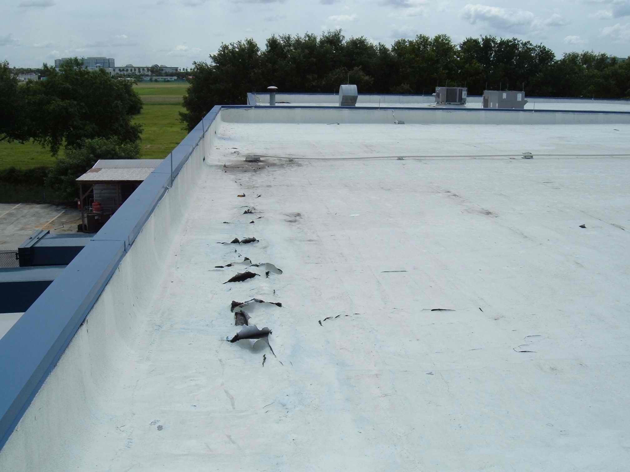 Final flat roof ffr common mistakes regarding your for Flat roof waterproofing paint